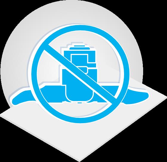 No Implants Icon