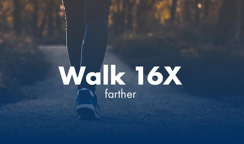 graphic - Patient - Walk 16x Farther
