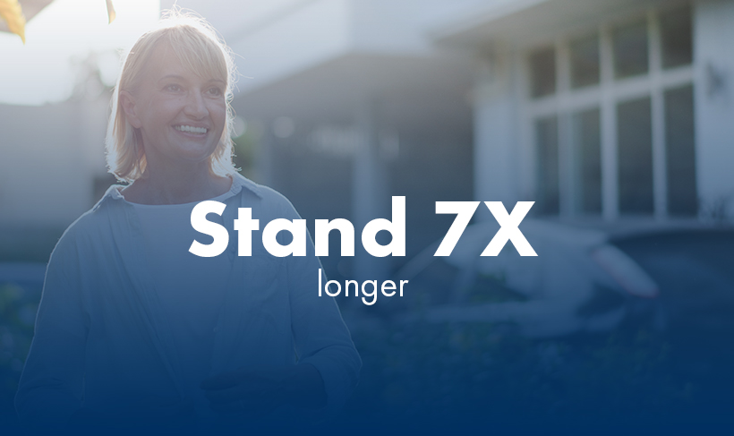 Graphic - Patient - Stand 7x longer