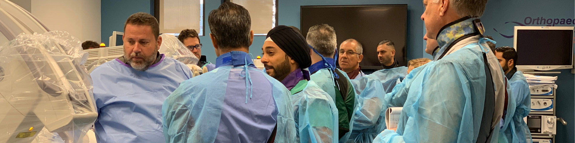 Surgeons gathered to discuss Mild Procedure for spinal stenosis treatment