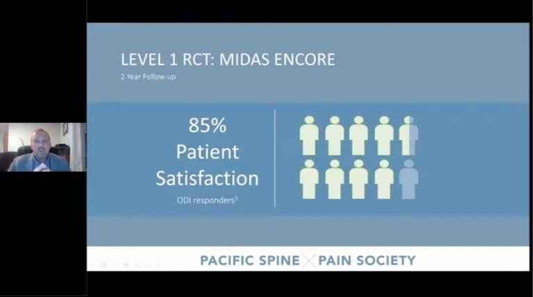 Webionar - PSPS Expanding Opportunities to Treat Lumbar Spinal Stenosis (LSS) Patients Earlier & More Often with PILD
